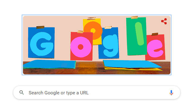 Google Doodle Wishes Father's Day with Stop-Motion Art