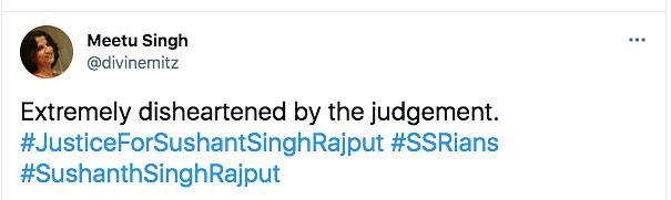 Disheartened by Delhi HC Judgment: Sushant's Sister Meetu Singh
