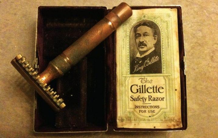 The legendary founder of Gillette