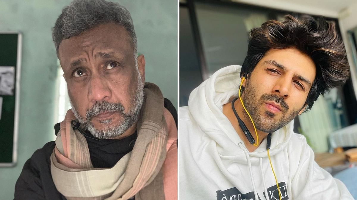 """<div class=""""paragraphs""""><p>Anubhav Sinha reacts to reports about Kartik Aaryan losing out on projects.</p></div>"""