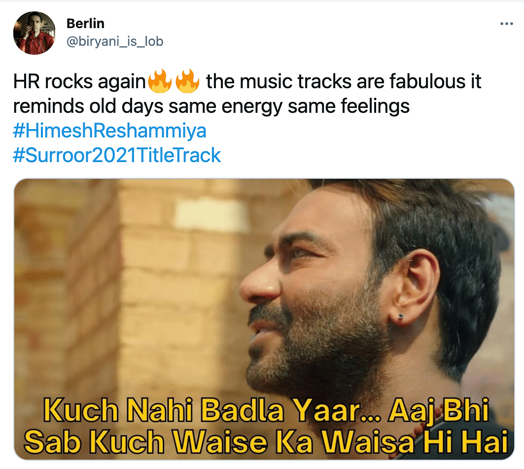 Surroor 2021, Himesh's Latest Track Takes Twitter by Storm
