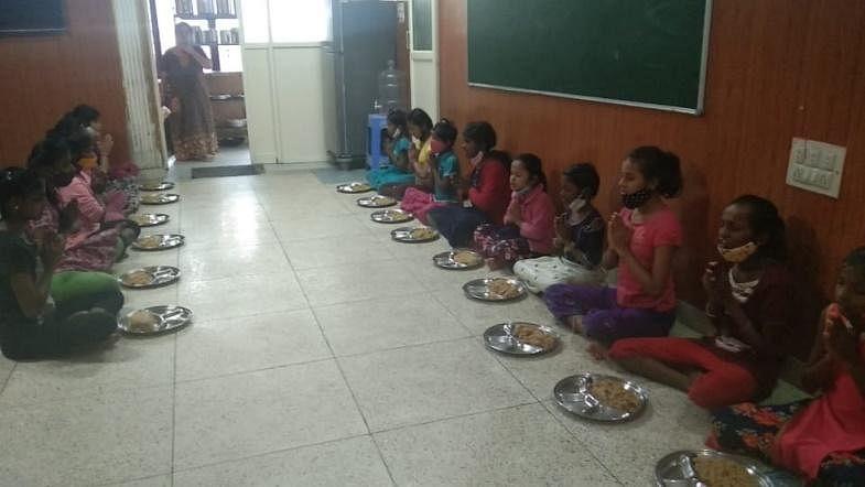 S.P.A.R.K provided food at Kalpa Raksha Orphanage.