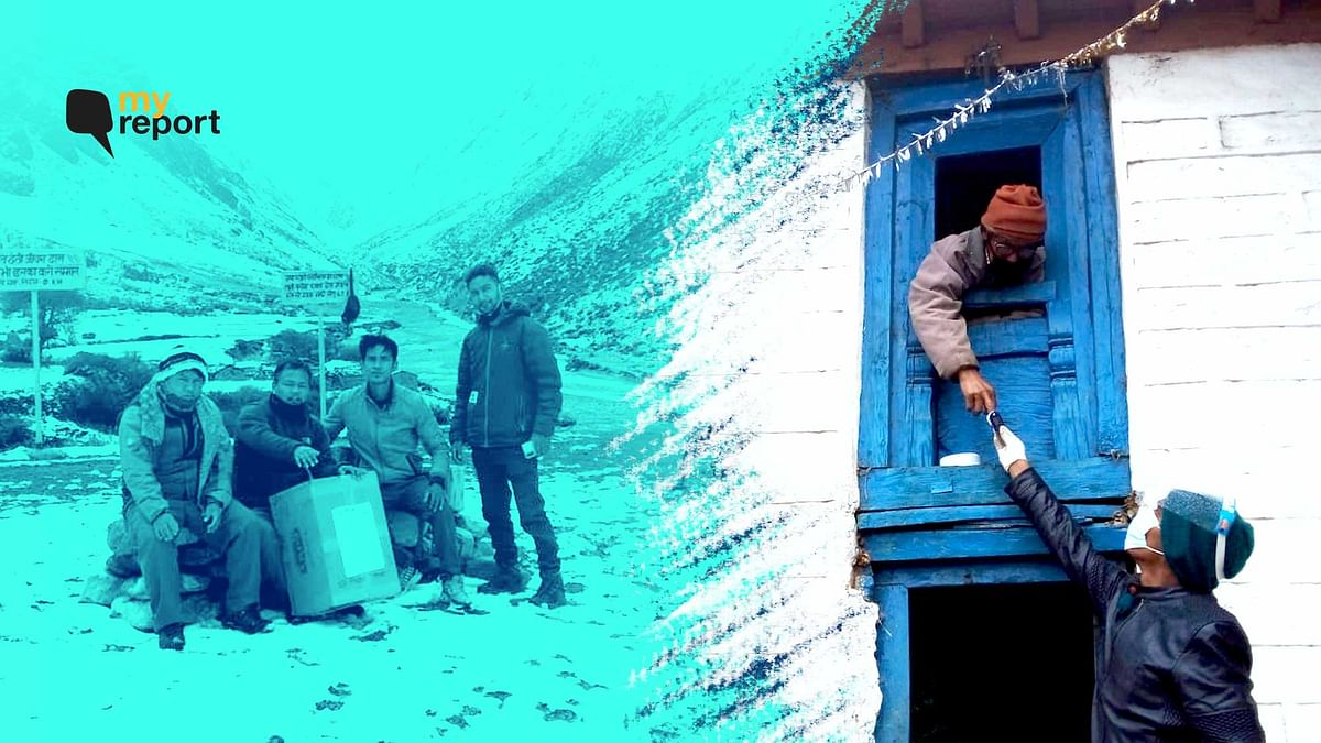 'We Trekked on Glaciers & Carried COVID Aid to Himalayan Villages'