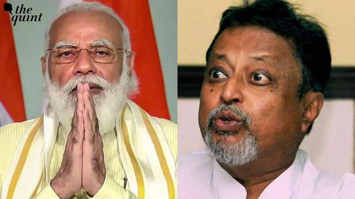 PM Modi Calls Up BJP's Mukul Roy Amid Buzz Over Latter's Next Move