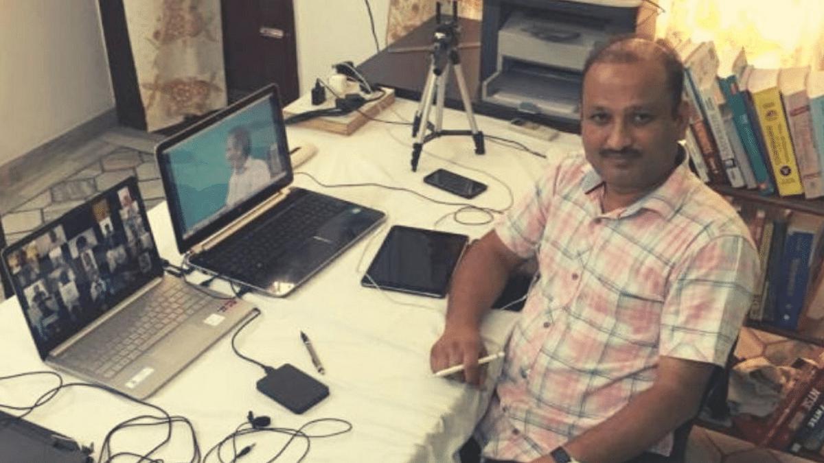 "<div class=""paragraphs""><p>Sanjeev Kumar, a math professor from Bathinda, Punjab, teaches over 3,500 students through online classes.</p></div>"