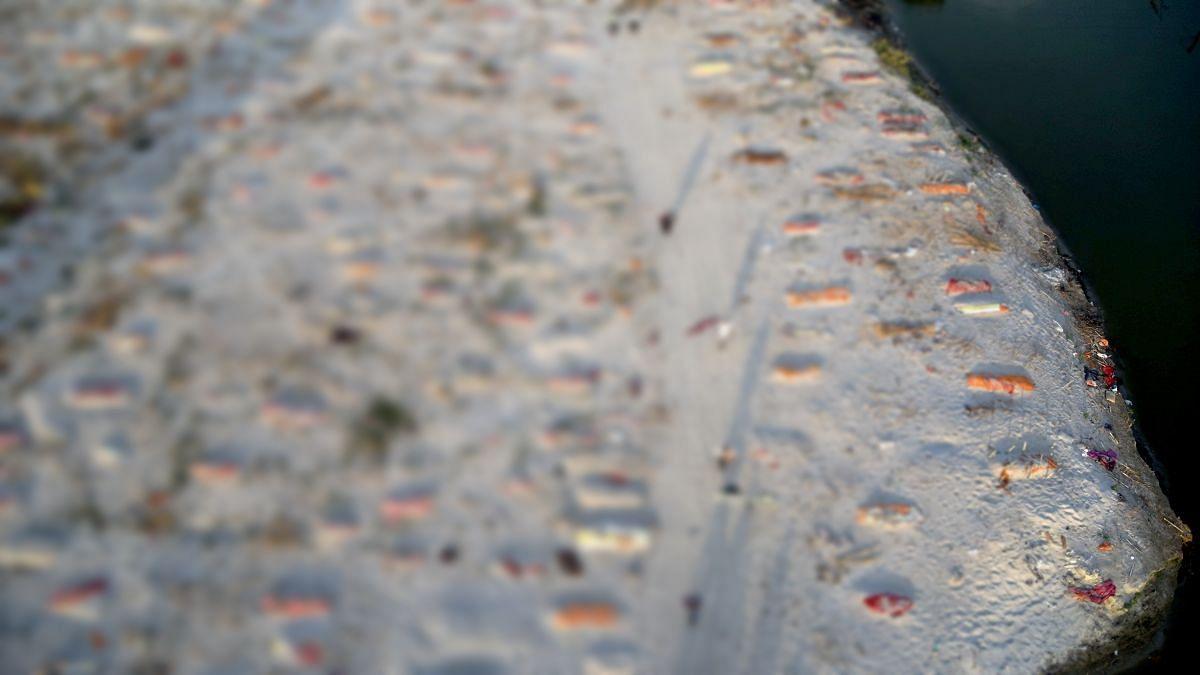 As Ganga Swells, Mass Graves Lay Bare In UP's Prayagraj