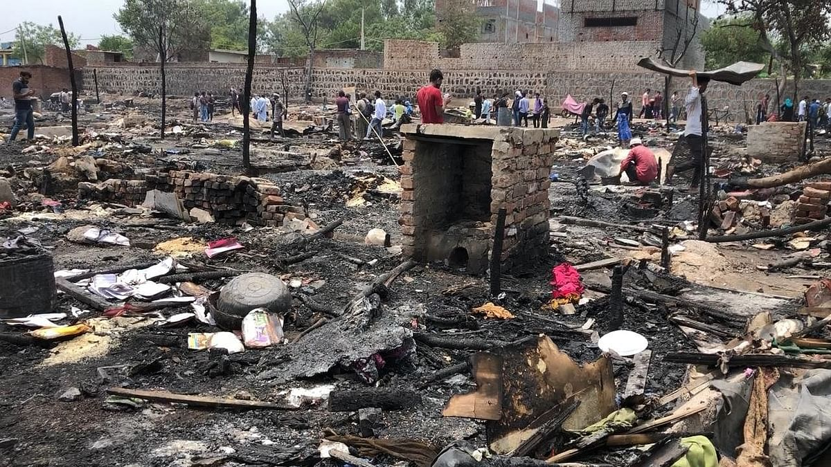 Fire at Rohingya Refugee Camp in Delhi: 230 People Left Homeless