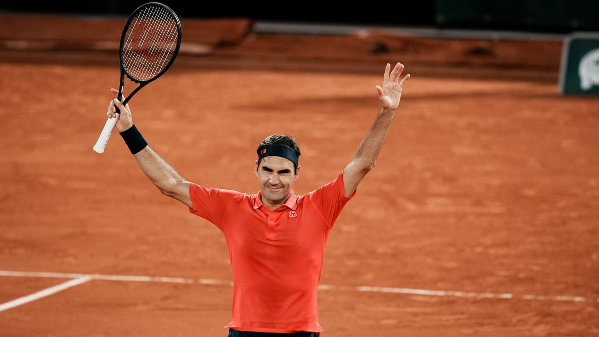 Roger Federer withdrew from the French Open on 6 June.