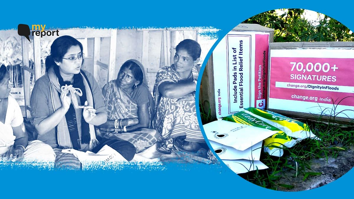 'Assam to Include Sanitary Pads in Relief Items After My Petition'