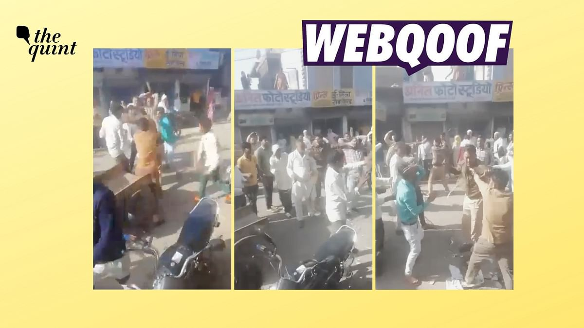 Incident From Rajasthan Shared With False Communal Angle