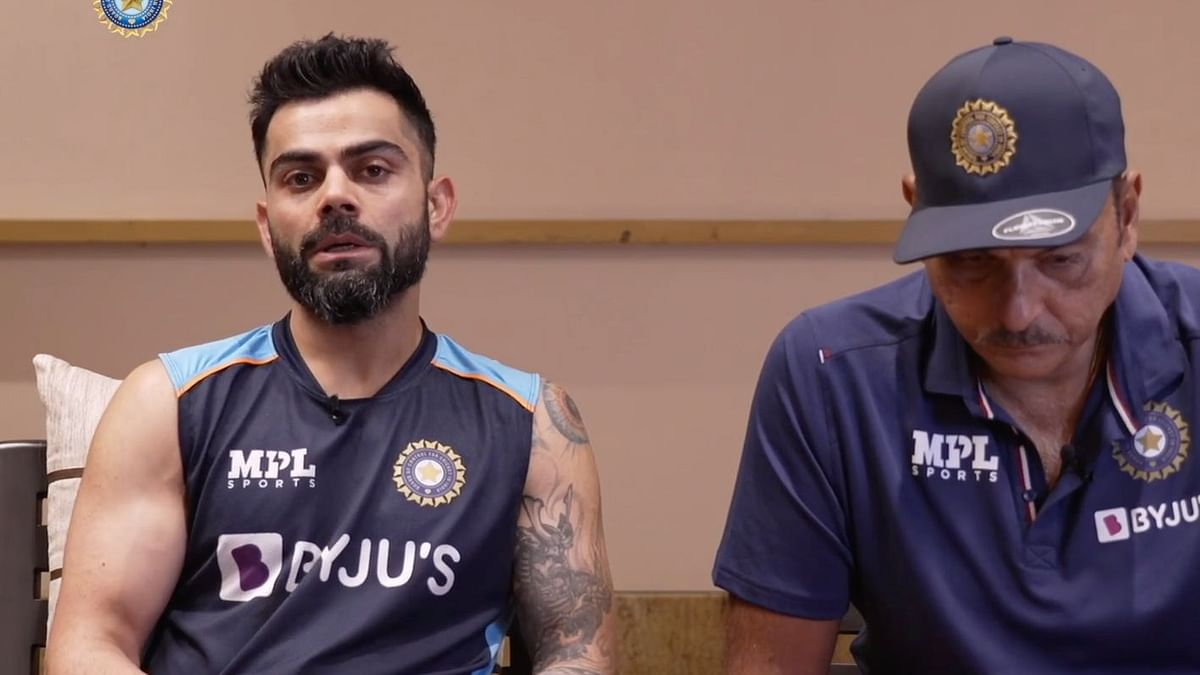 Virat Kohli spoke about the pressure on a player's mental health while they are living constantly in bio-bubbles.