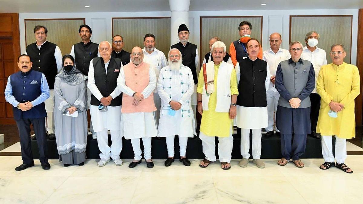 At Meet, J&K Leaders Demand Statehood, PM Pushes for Delimitation