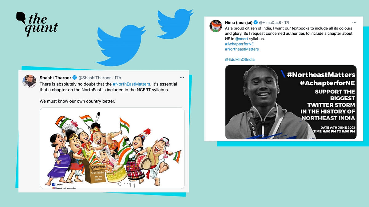 'About Time': Tharoor, Hima Das Back Northeast  Twitter Storm