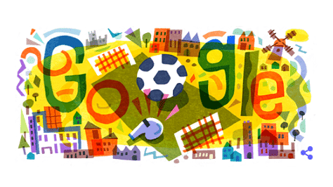 Google Doodle Marks the Commencement of UEFA Euro 2020