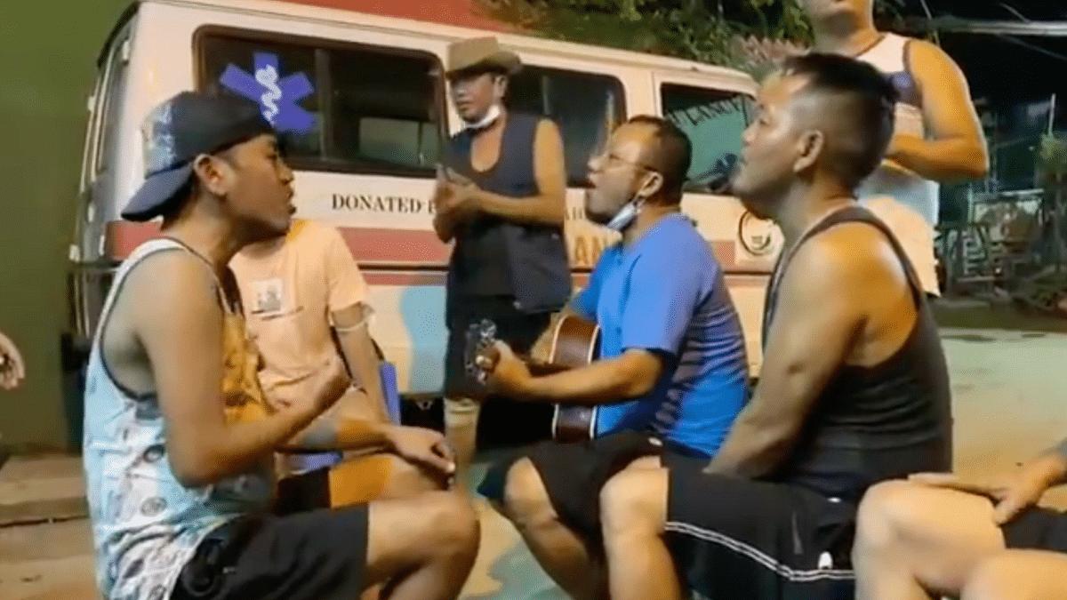 Mizoram Ambulance Drivers Enjoy Jam Session, Break From Night Duty