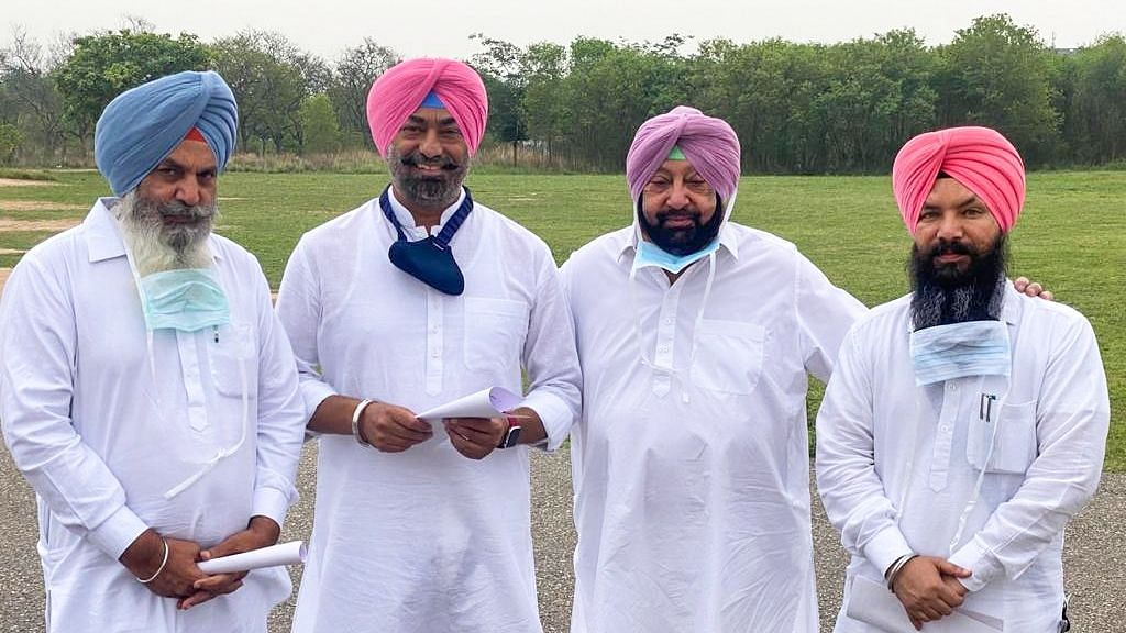 Jagdev Singh Kamalu Sukhpal Singh Khaira, and Pirmal Singh Dhaula