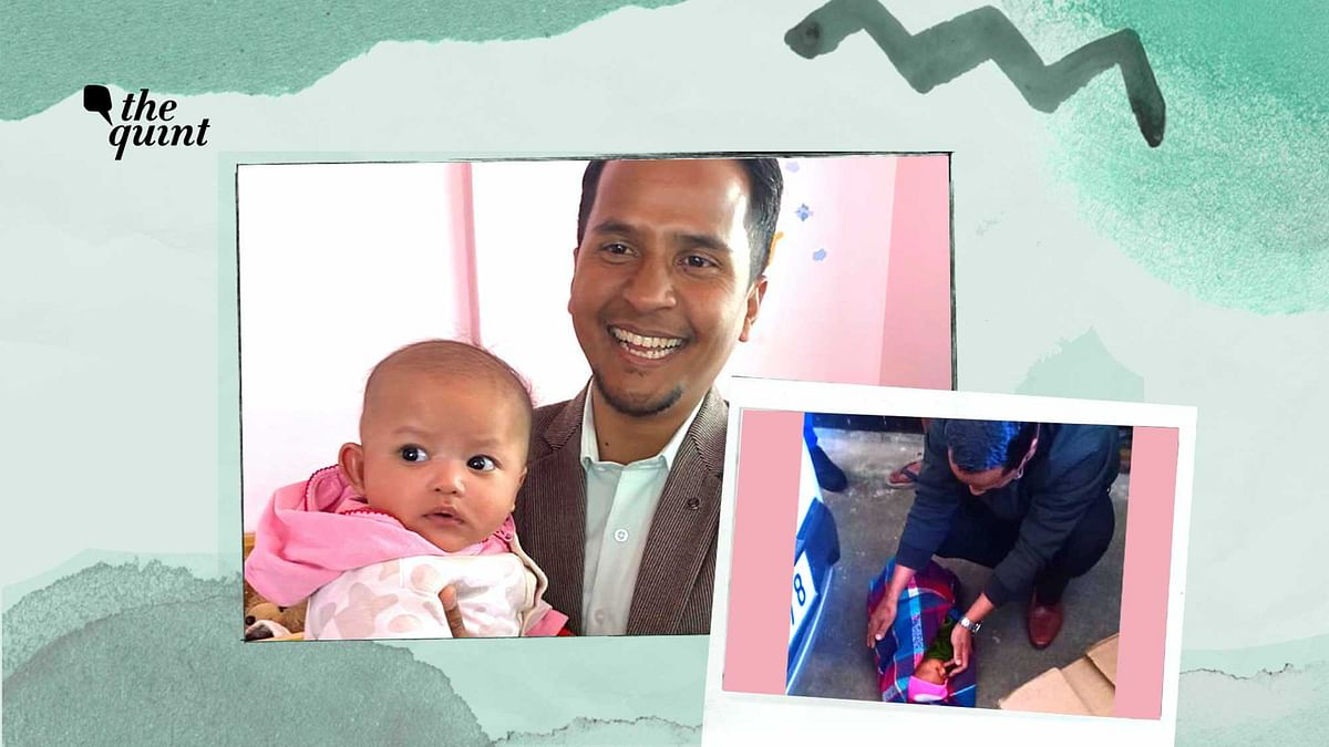 An Abandoned Child & This Meghalaya Man's Longing To Be Her Father