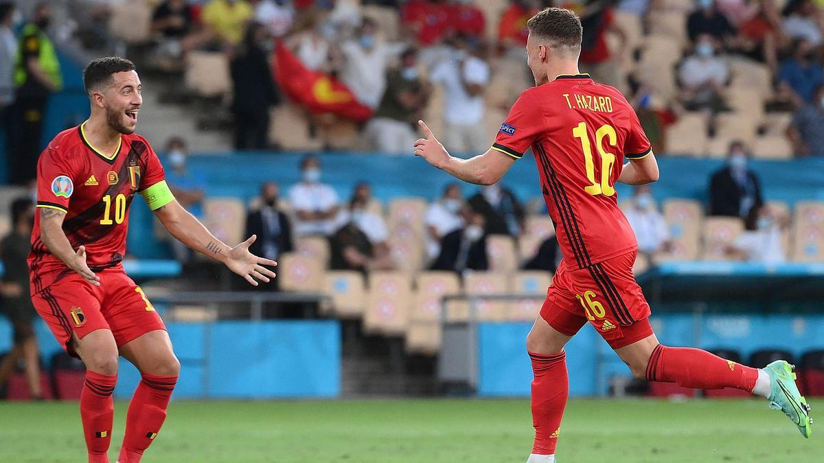 Belgium Pack Off Ronaldo's Portugal to Reach Euro 2020 QF
