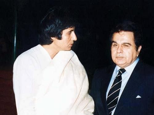 """<div class=""""paragraphs""""><p>Amitabh Bachchan and Dilip Kumar finally worked together in 'Shakti'</p></div>"""