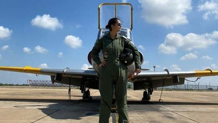 IAF Inducts First Woman Fighter Pilot From J&K's Rajouri