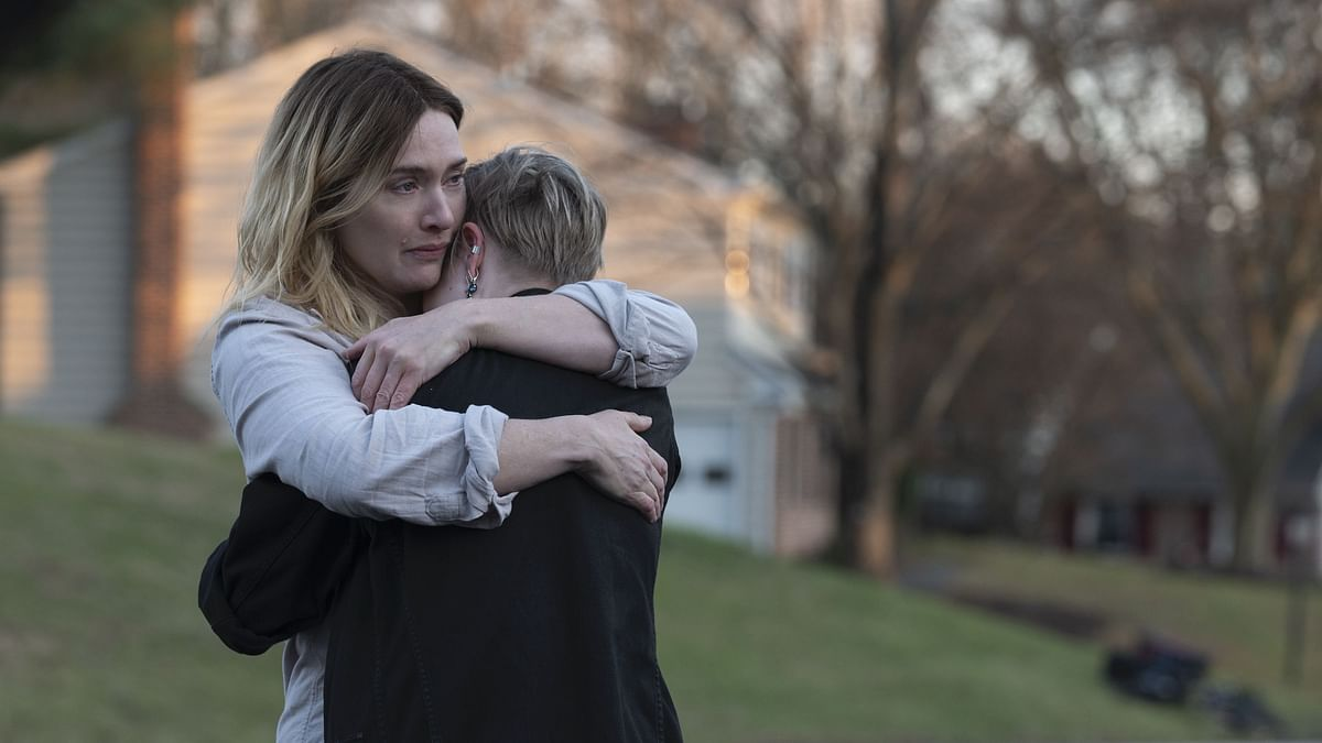 """<div class=""""paragraphs""""><p>Kate Winslet and Angourie Rice in a still from Mare of Easttown.</p></div>"""