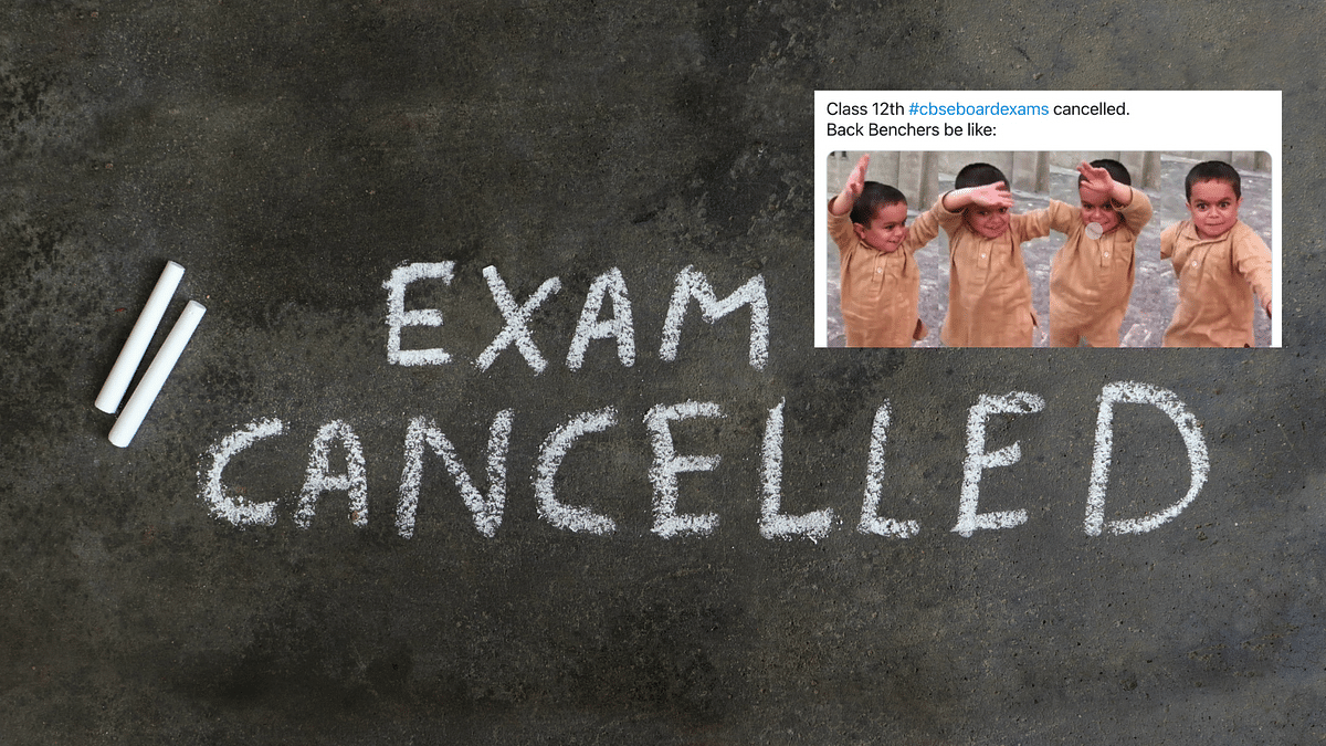 """<div class=""""paragraphs""""><p>Class 12 Boards getting cancelled has given rise to memes.</p></div>"""
