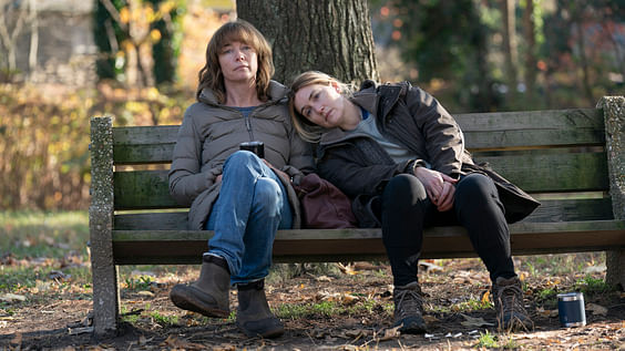"""<div class=""""paragraphs""""><p>Julianne Nicholson and Kate Winslet in Mare of Easttown.</p></div>"""