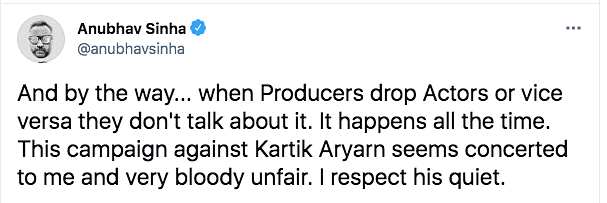 Campaign Against Kartik Aaryan Seems Concerted: Anubhav Sinha