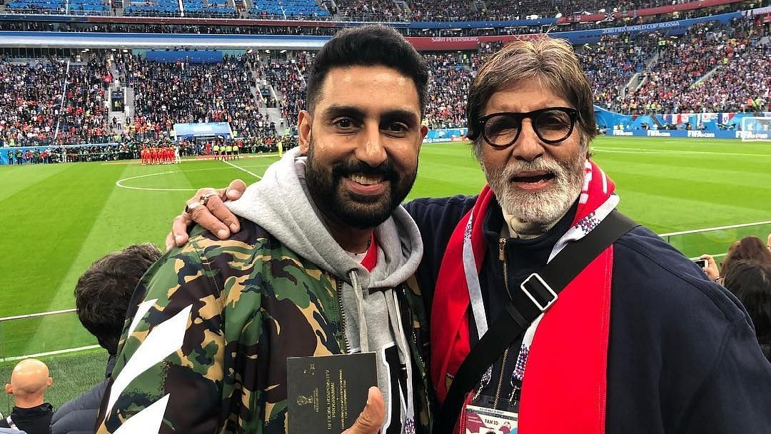He's a Good Roomie: Abhishek on COVID Recovery with Father Amitabh