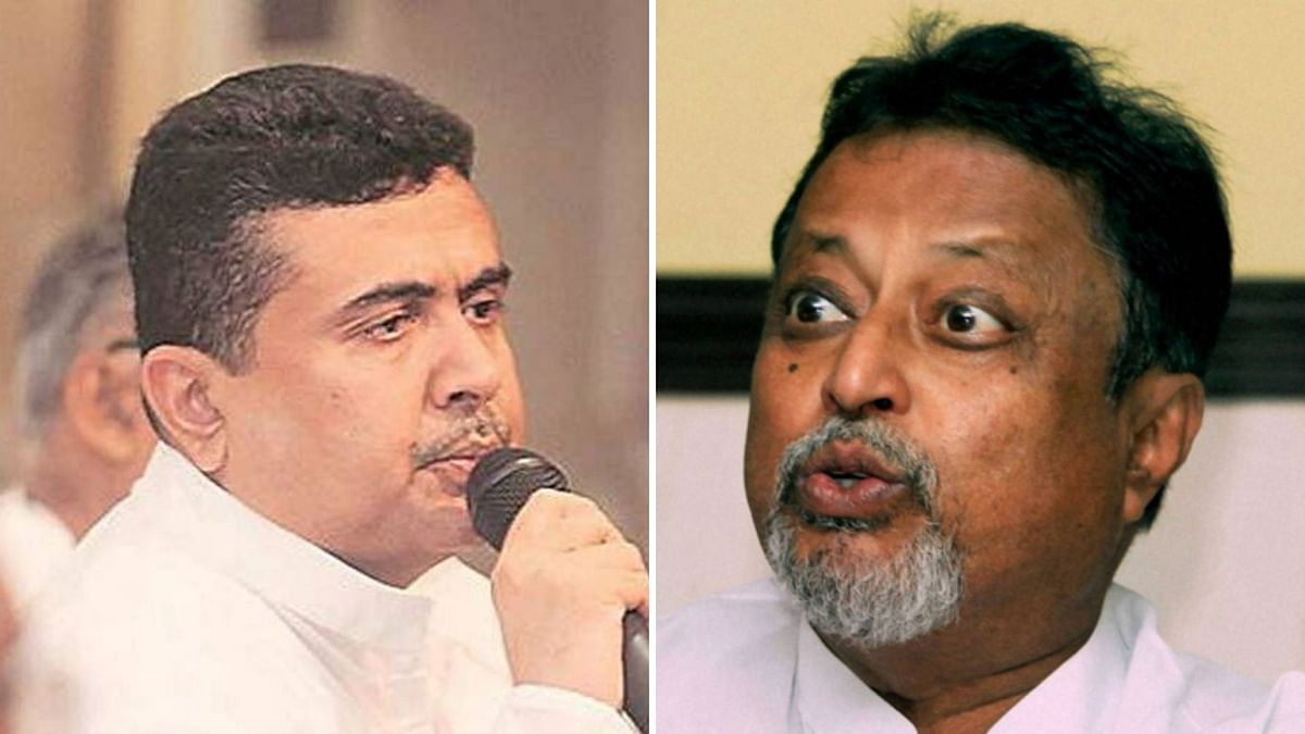 BJP MLA Suvendu Adhikari approached the West Bengal Assembly Speaker with a petition to disqualify TMC leader Mukul Roy.