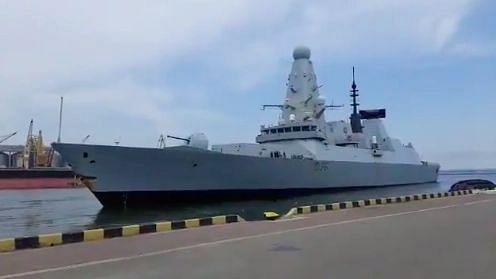 Russia Claims 'Warning Shots' Fired Near UK Warship; London Denies