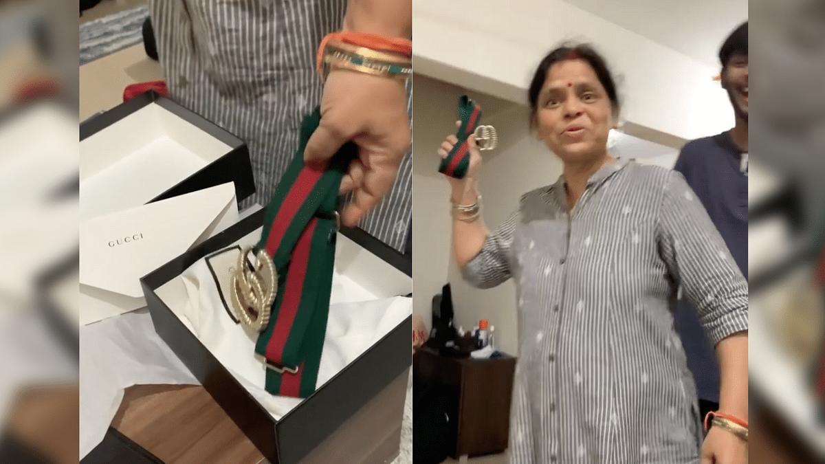 Desi Mom Says 35k Gucci Belt Looks Like School Belt in Viral Video