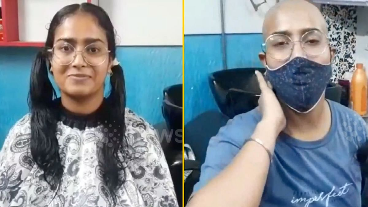 24-Year-Old Woman Shaves Head To Help Cancer Patients