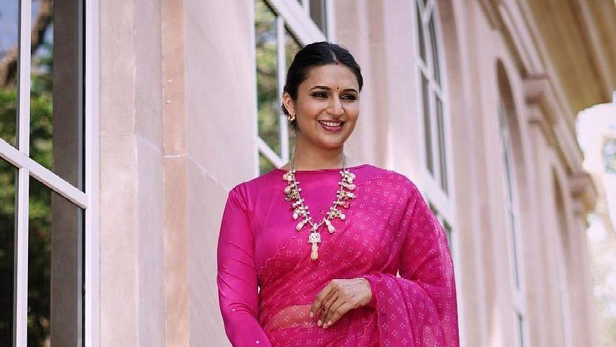 """<div class=""""paragraphs""""><p>Divyanka Tripathi reacts to rumours of her playing Dayaben in&nbsp;<em>Taarak Mehta Ka Ooltah Chashmah.</em></p></div>"""