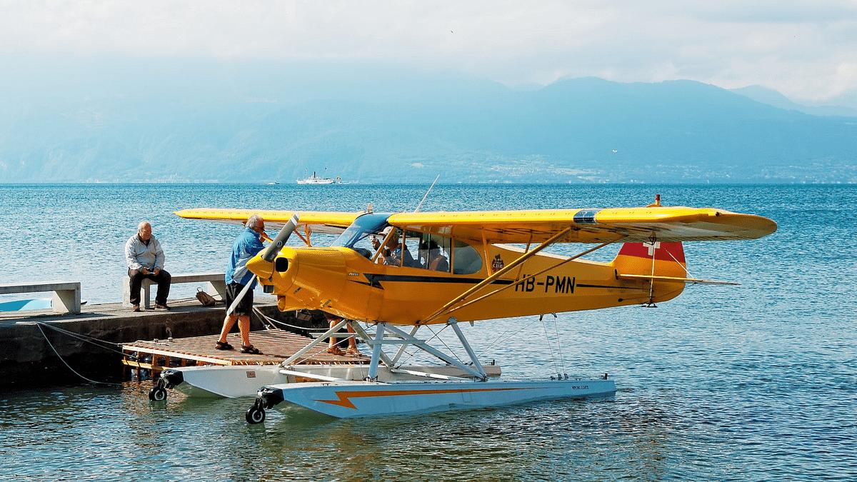 Assam Mason Builds Seaplane From Bajaj Bike Engine