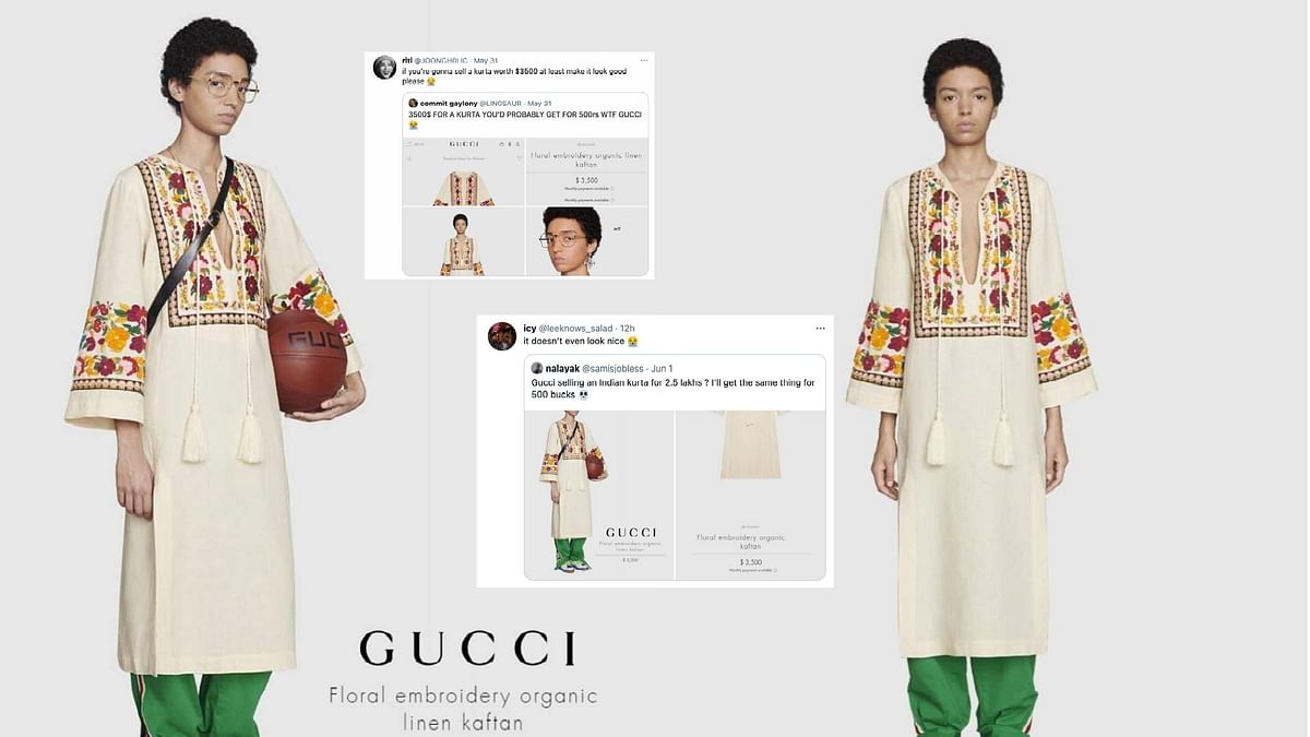 Gucci Is Selling a 2.5 Lakh Kurta & Desi Twitter Cannot Keep Calm