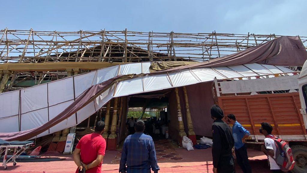 Hemkunt Foundation SOS: Unidentified Goons Tear Down COVID Centre