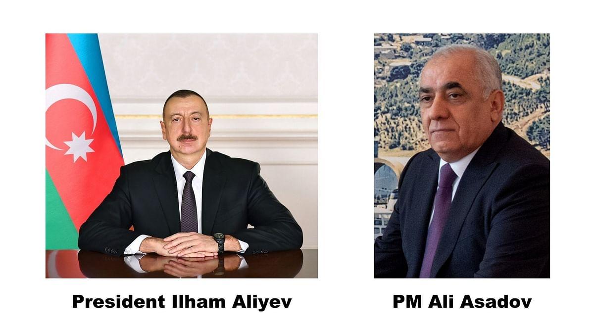 "<div class=""paragraphs""><p>President Ilham Aliyev (left) and Prime Minister Ali Asadov (right) of Azerbaijan.</p></div>"
