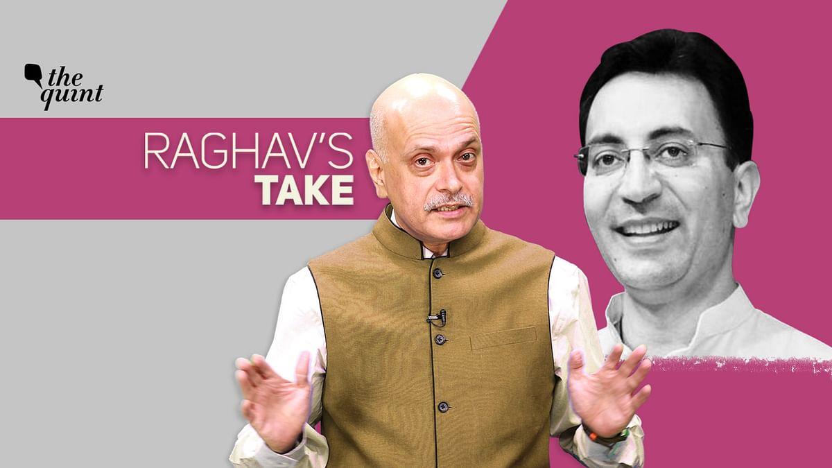 Raghav's Take: Jitin Prasada's Cong Exit (Not) Like Jagjivan Ram's