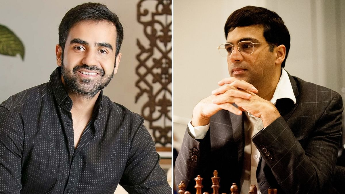 Nikhil Kamath Took 'Help' in Chess Game vs Vishwanathan Anand