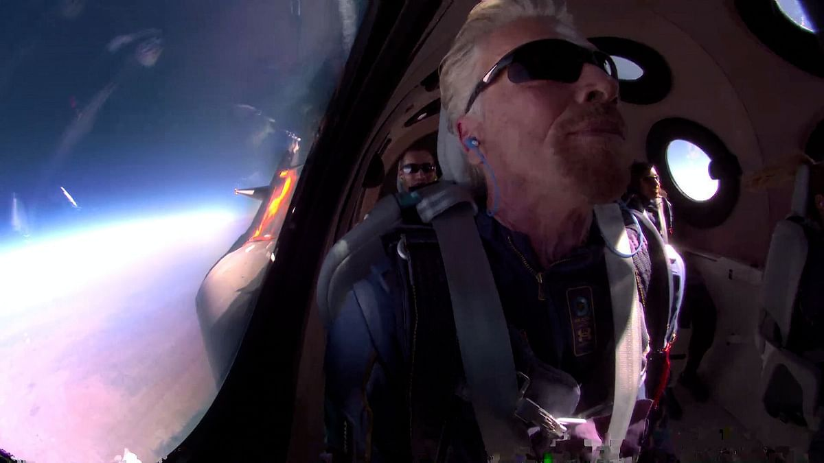 'More Magical Than I Imagined': Richard Branson on Trip to Space