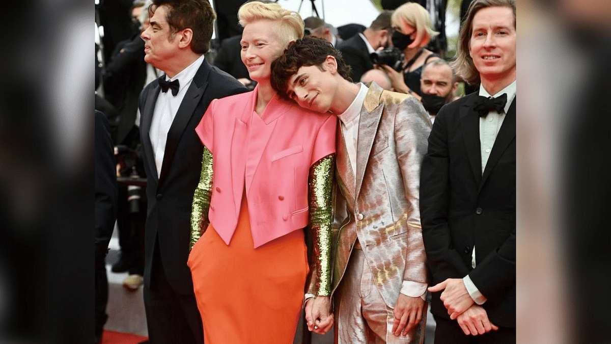 Twitter Is Obsessed With This Picture of Tilda Swinton & Timothée Chalamet