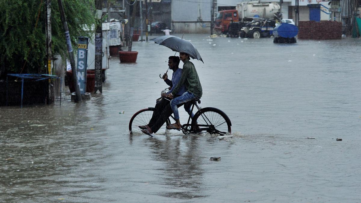 Rains in Delhi-NCR Disrupt Traffic, Cause Waterlogging in Several Areas