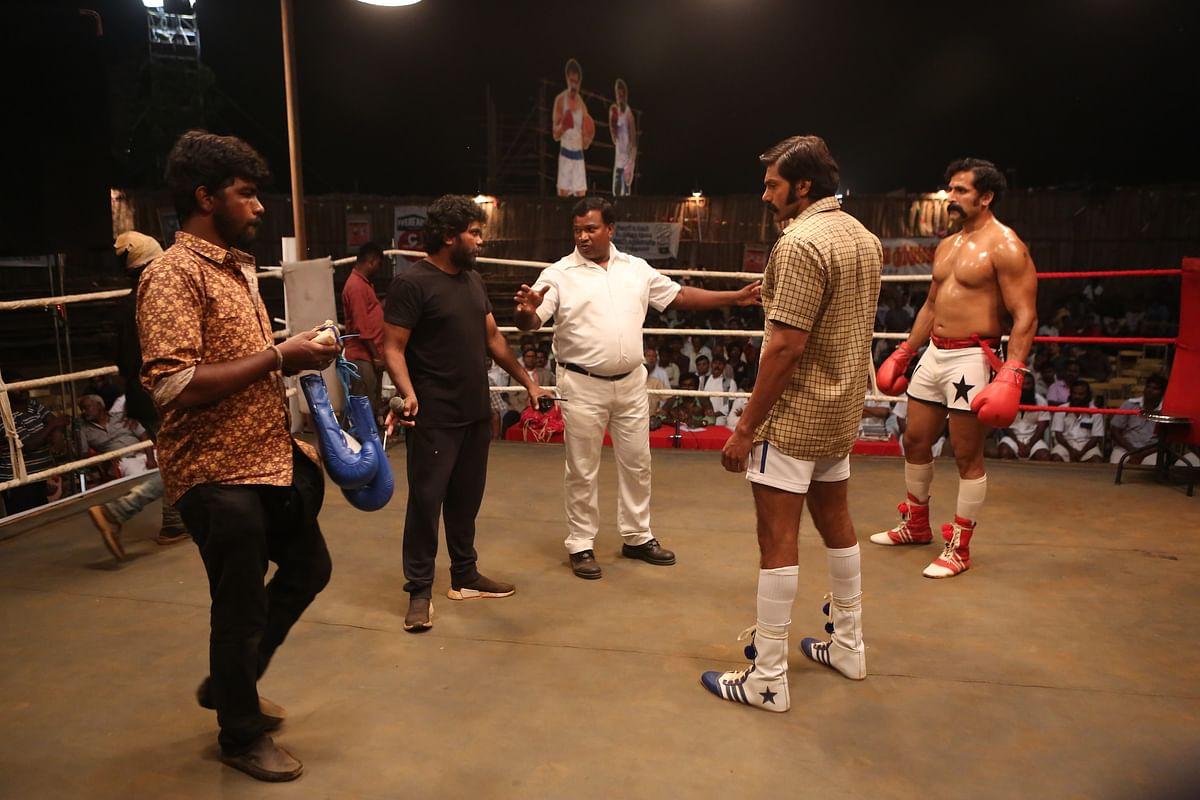 "<div class=""paragraphs""><p>Actor Arya in <em>Sarpatta Parambarai,</em> a film directed by Pa Ranjith.</p></div>"