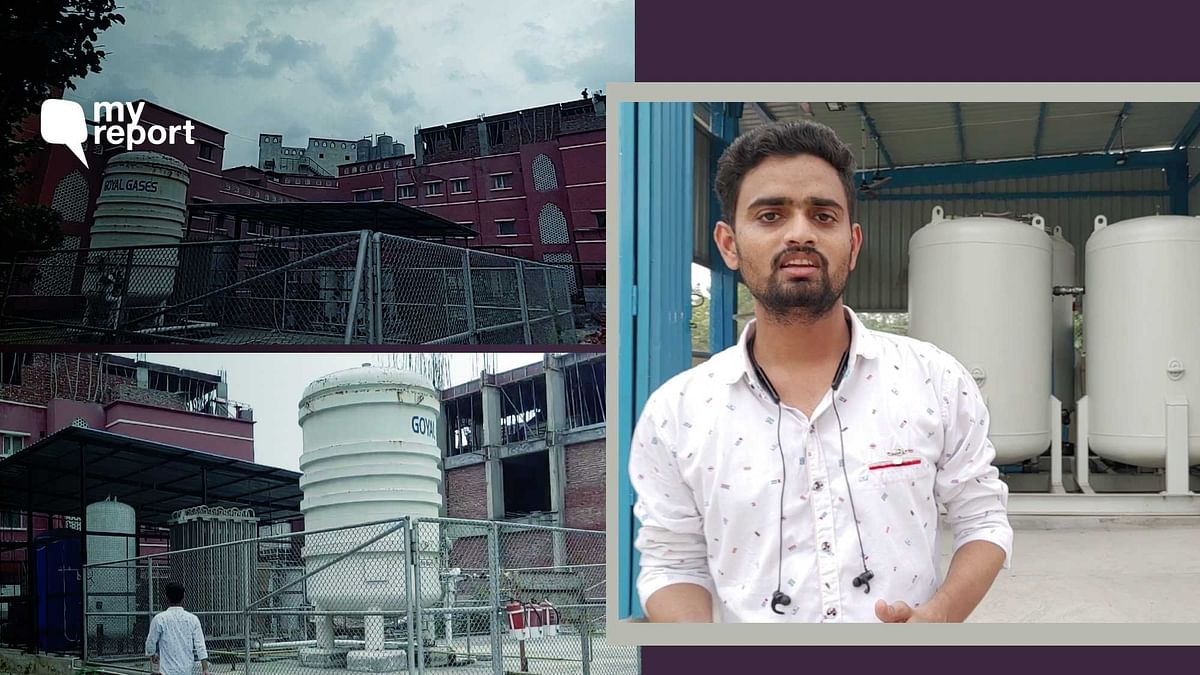 'After Loss of Several Teachers to COVID, Oxygen Plant in AMU for 3rd Wave'