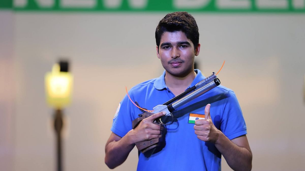 """<div class=""""paragraphs""""><p>Tokyo Olympics: Saurabh Chaudhary qualified for the final of the 10m Air Pistol event.&nbsp;</p></div>"""