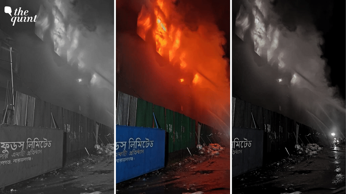 Factory Fire in Dhaka Leaves at Least 52 Dead, Over 50 Injured