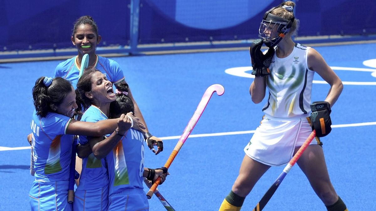 India Women's Hockey Team Enter Olympics Quarter-Final For First Time