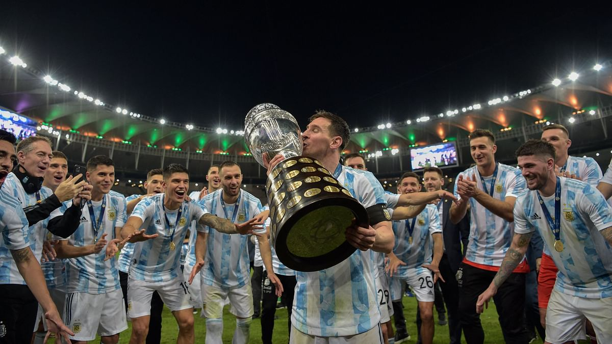 Messi Wins 1st Major Trophy as Argentina Defeat Brazil in Copa America Final