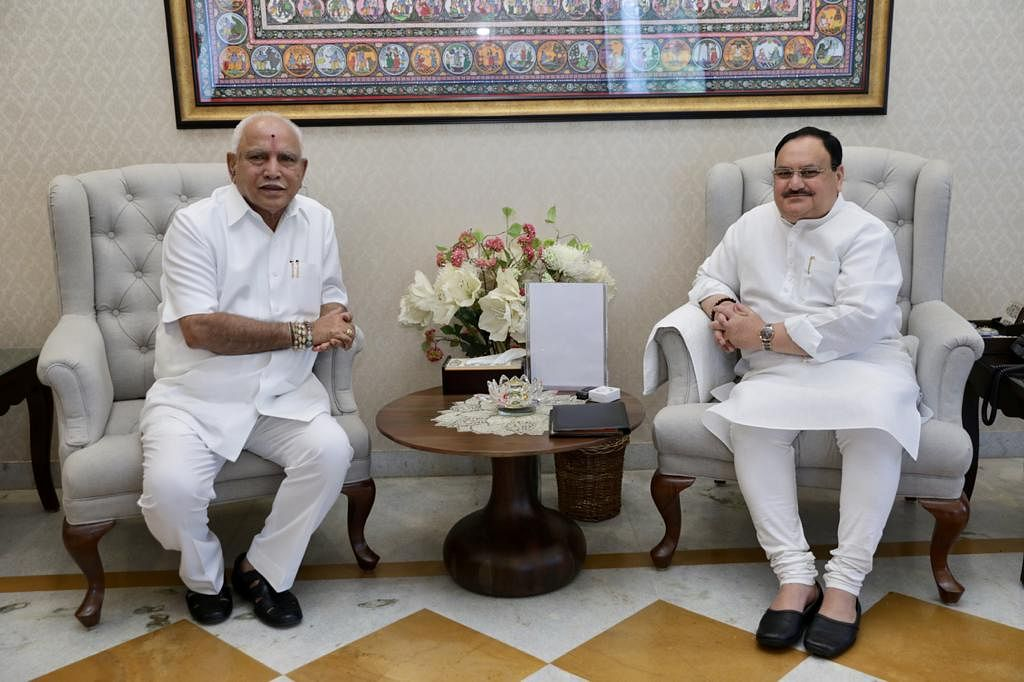 "<div class=""paragraphs""><p>(BS Yediyurappa with BJP Chief JP Nadda)</p></div>"